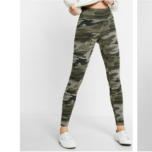 Express camo leggings